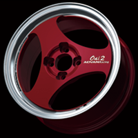 MACHINING & RACING CANDY RED