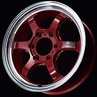 MCR:MACHINING & RACING CANDY RED