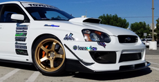 SUBARU IMPREZA STi + ADVAN Racing GT Premium Version